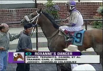 Roxanne's Dancer Wins the Belmont